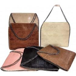 Woman handbag M-232(40 x 30x5 εκ)