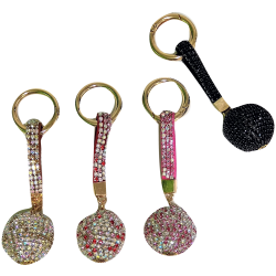 Key ring with stras -J13
