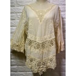 Knitwear blouse LA-409