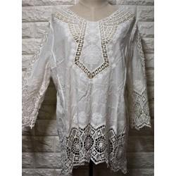 Knitwear blouse LA-410