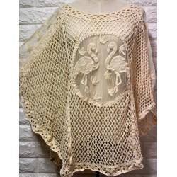 Knitwear blouse LA-416