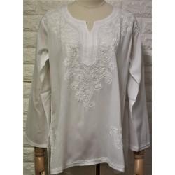 Knitwear blouse INF-15