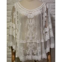 Knitwear blouse LA-731