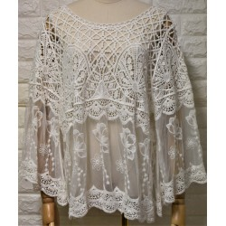 Knitwear blouse LA-744