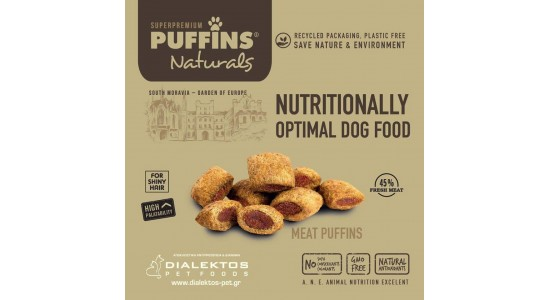 The only puff-in dog food