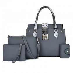 4PCS Women's Bag Famous brand