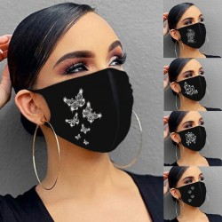 Women Black Masks Washable
