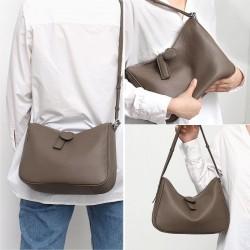 Daily Genuine Leather Shoulder Bag