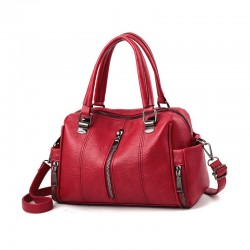 Female Traval Casual Shoulder Bag 100% real leather