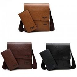 2PC/Set Men Messenger Shoulder Bag