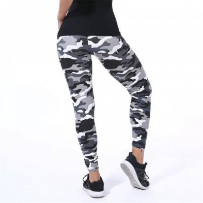 Camouflage Women Leggins Graffiti Style Slim