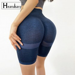Slim Fit High Waist Yoga Sport Shorts