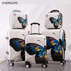 3pcs set ABS+PC luggage