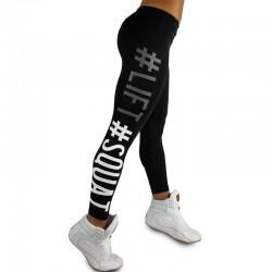 Tightening Leggings Leggins Elastic Pant Capri
