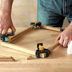 4pcs/set Carpenter right Angle clip 90 degree holder