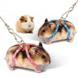 New Small Pet Adjustable Soft Harness Leash