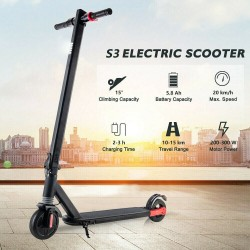6.5 Inch Folding Kick Scooter Electric