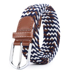 Casual Knitted Pin Buckle Belt