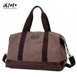 Leisure Tote Simple Canvas  Bag