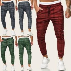 Men Casual Gym Long Sport Pants
