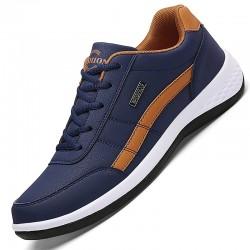 Leather Men Sneakers