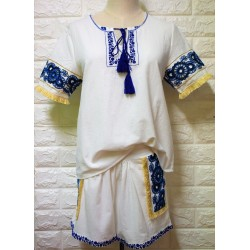 2 piece set womans short & top LA-402