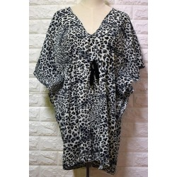 Poncho animal print LA-432