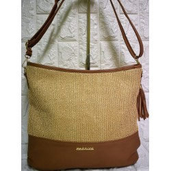 Straw woman bag Μ-510