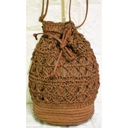 Straw backbag P-500