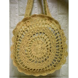 Straw woman bag P-501