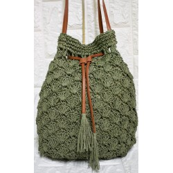 Straw woman bag Ρ-502