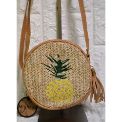 Straw woman  bag P-504