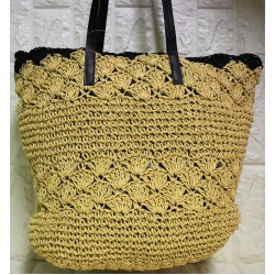 Straw woman  bag P-509