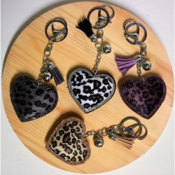 "Key ring ""heart"""