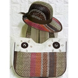 Set beachbag with hat P-382