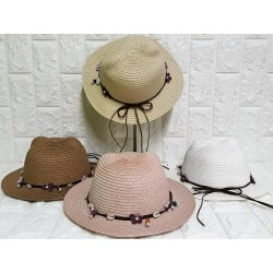 Kids straw hats P-437