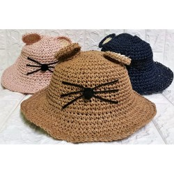 Kids straw hats P-442