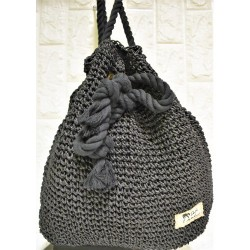 Straw backbag P-507